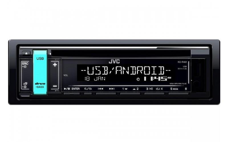 JVC KD-R491 OTO TEYP CD/USB/FM RADİO 4X50 WATT