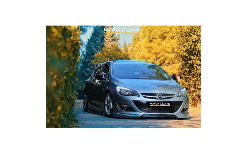 Opel Astra J Uyumlu Yarasa Ayna Kapağı Piano Black 2009-2016