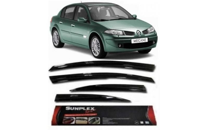 Renault Megane 2 Cam Rüzgarlığı SUNPLEX 4.Prç 2003-2008 Arası