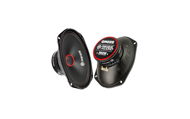 Reiss Audio RS-GM69S 6X9 Oval Midrange