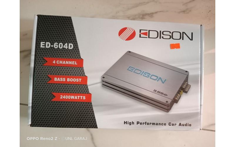 Edison ED-604L 2400W 4 Kanal Oto Anfi̇