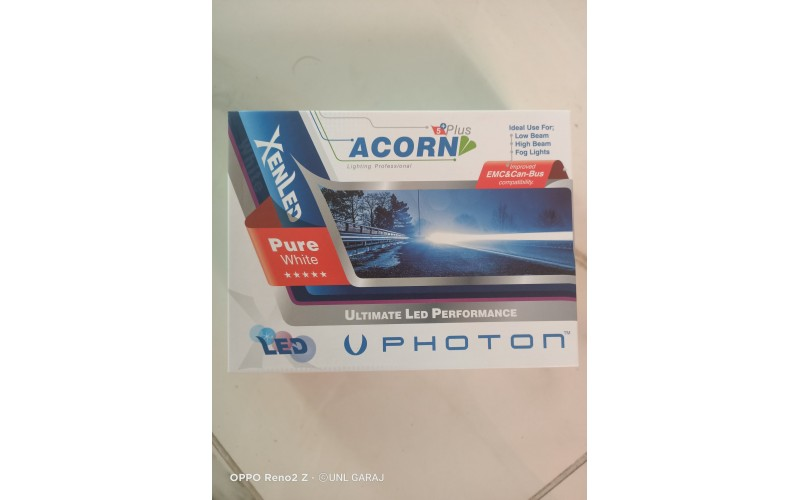 PHOTON ACORN 5 PLUS HEADLİGHT H4 LED XENON 5200 LÜMEN