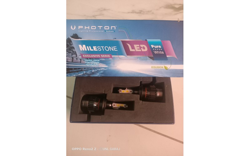 Photon Milestone H7 3 Plus Led Headlight Yeni Robust Edition