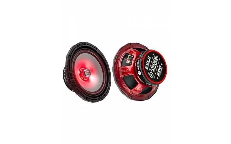 Reis Audio RS-EXL8 20cm Ledli Çiftli Midrange