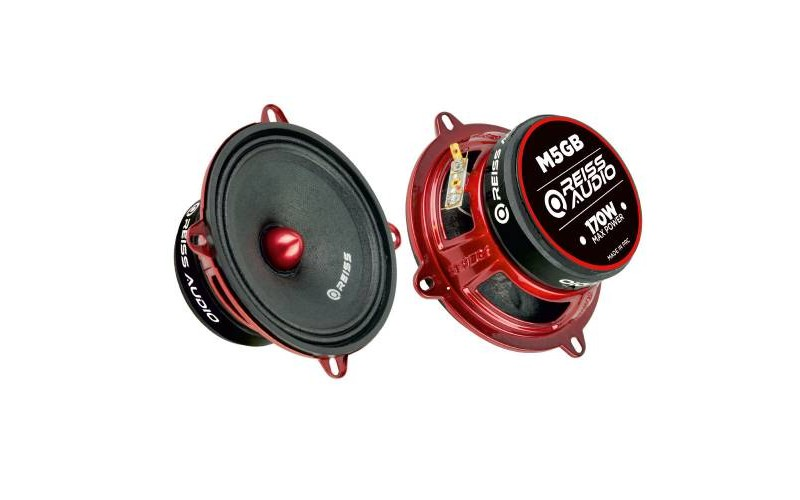 Reiss Audio RS-M5GB 13CM ÇİFTİ 340W OZEL CARBON SERİSİ MİDRANGE
